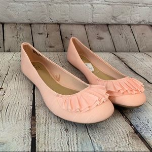 Time and Tru womens pink flats shoes size 8 new